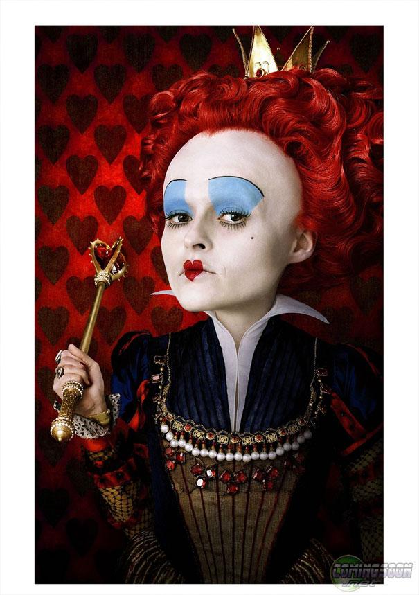 Queen Of Hearts Alice In Wonderland Off With Their Heads Alice in Wonderland