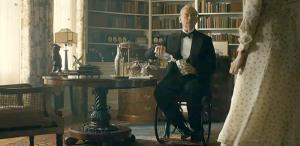 Bill Murray as FDR in a wheelchair