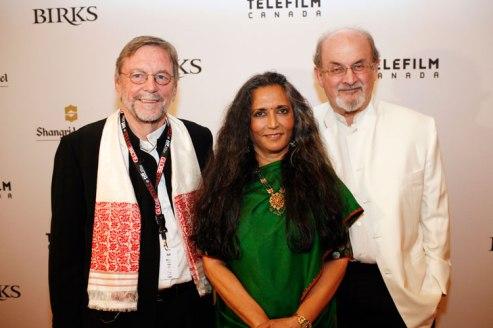 David Hamilton, Deepa Mehta & Salman Rushdie
