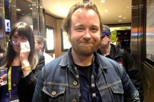 "A jovial Tom Berninger after the screening of ""Mistaken For Strangers"", about his brother's band ""The National""."