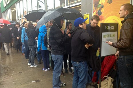 Hot Docs 2013 saw many sold out screenings with rush lines wrapping half way around the block.