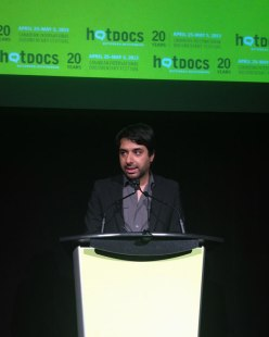 Eleven awards and $89,000 in cash and prizes were presented to filmmakers at the Awards Ceremony hosted by Jian Ghomeshi of CBC Radio.