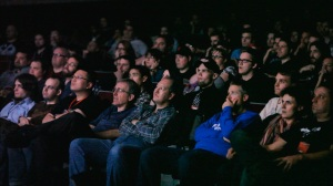 The Rep Crowd Watching A Movie