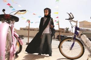 Waad Mohammed as Wadjda Photo Tobias Kownatzki  Razor Film, Courtesy Sony Pictures Classics