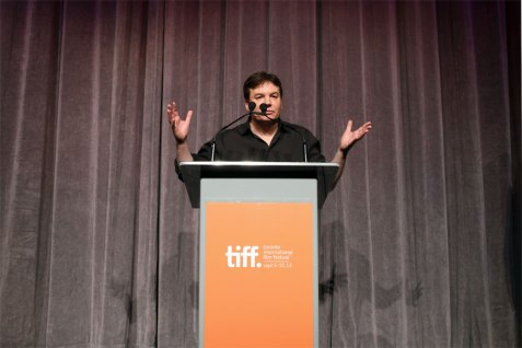 Mike Myers introduced his directorial debut, Supermensch The Legend of Shep Gordon