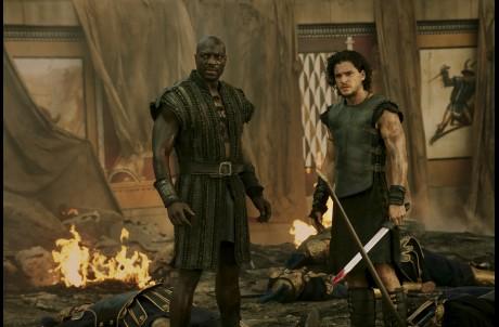 Pompeii, Kit Harrington, Atticus Adewale Akinnuoye-Agbaje
