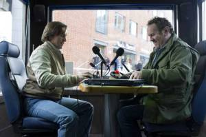 Steve Coogan and Colm Meaney in ALAN PARTRIDGE