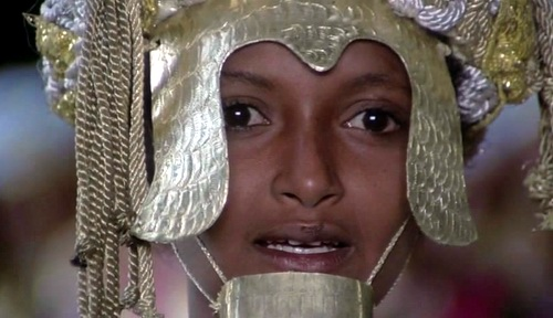 Ines Pellegrini in Pasolini's Arabian Nights