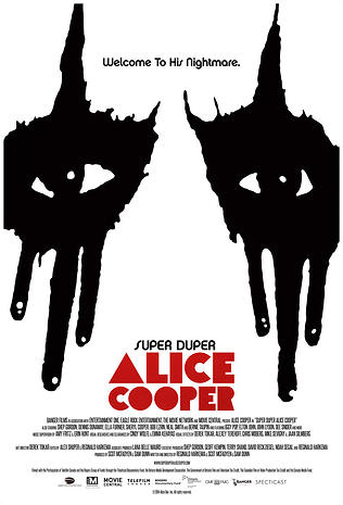 Super Duper Alice Cooper Affiche