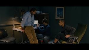 Waleed Zuaiter and Adam Bakri in Omar (2013). Courtesy of Adopt Films