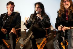 "Alice Cooper (along with filmmakers Scot McFadyen and Reginald Harkema), answers audience questions about ""Super Duper Alice Cooper"""