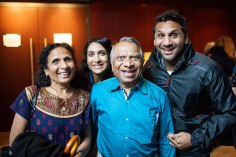 Meet The Patels is an entertaining look at the Patel family (left to right: Champa, Geeta, Vasant & Ravi)
