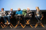 "The Q&A for ""I Am Big Bird: The Caroll Spinney Story"" (Spinney brought along Oscar The Grouch)"