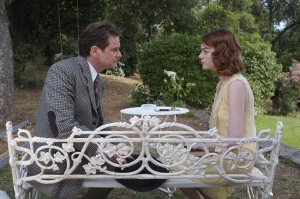 Colin Firth as Stanley and Emma Stone as Sophie Photo by Jack English © 2014 Gravier Productions, Courtesy of Sony Pictures Classics 99d6670f-43c4-439a-8115-c5f4401e534c