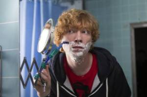 Domhnall Gleeson in FRANK, a Magnolia Pictures release. Photo courtesy of Magnolia Pictures.