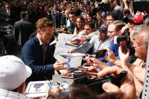Cumberbatch signs autographs at TIFF Jeff Harris