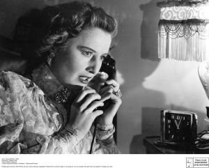 Sorry, Wrong Number (1948) Directed by Anatole Litvak Shown: Barbara Stanwyck