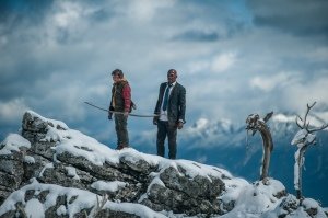 Big Game - Onni Tommila (Oskari) and Samuel L. Jackson (the President) in Big Game
