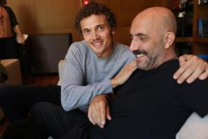 Karl Glusman, Gaspar Noe photo © Jeff Harris cultural mining 2