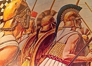 Athenian soldiers