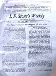 IF Stone Weekly