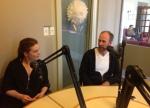 Nicole Marron, Vladimir Jon Cubrt talk about Luba, with Daniel Garber © cultural mining1