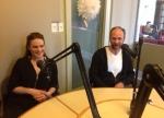 Nicole Marron, Vladimir Jon Cubrt talk about Luba, with Daniel Garber © cultural mining2