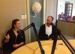 Nicole Marron, Vladimir Jon Cubrt talk about Luba, with Daniel Garber © cultural mining3