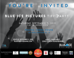 blue ice tiff party